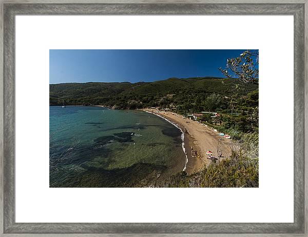 Elba Island - On The Beach 2 - Ph Enrico Pelos Framed Print