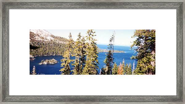 Emerald Bay Framed Print