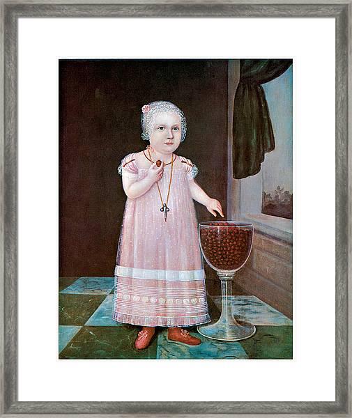 Emma Van Name Framed Print