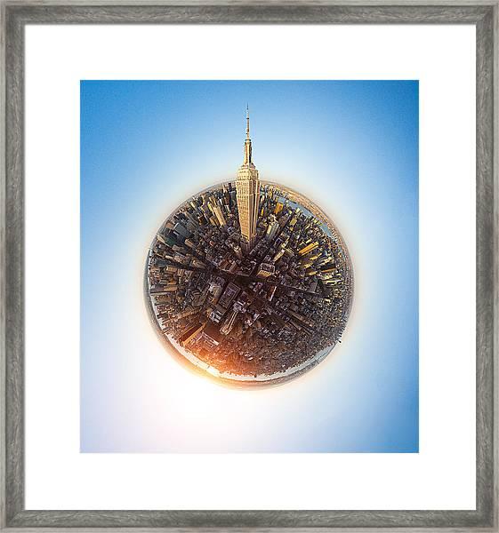 Empire State Framed Print