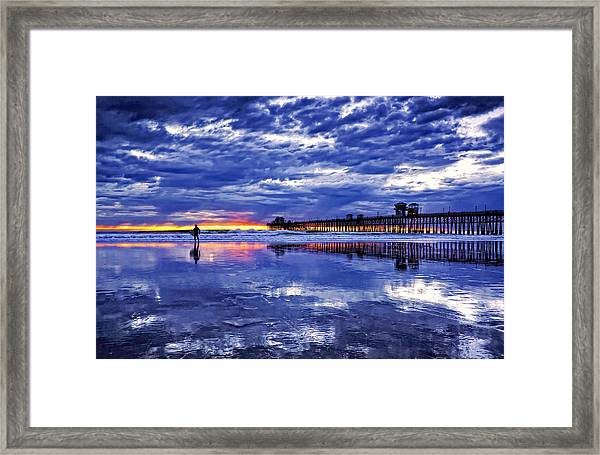 Endless Dreams Framed Print by Donna Pagakis