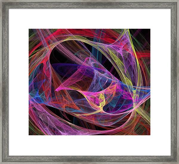 Energetic Framed Print