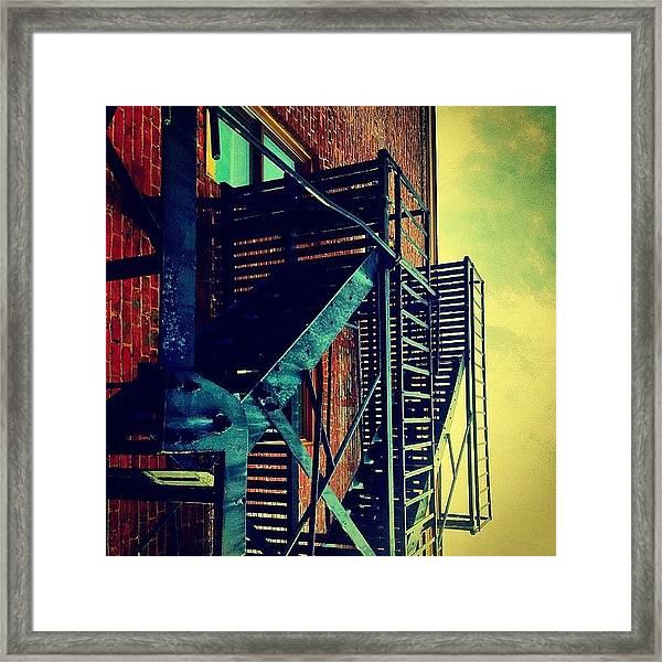 Escape To The Sky Framed Print