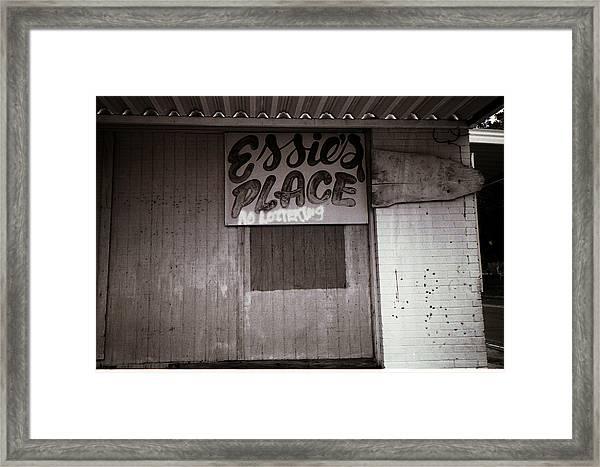 Essie's Place Framed Print