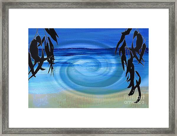Eucalyptus Ocean View Framed Print