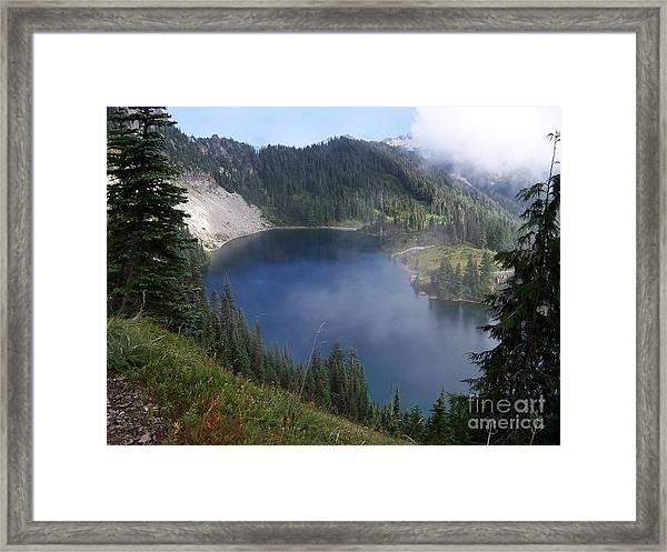 Eunice Lake  Framed Print