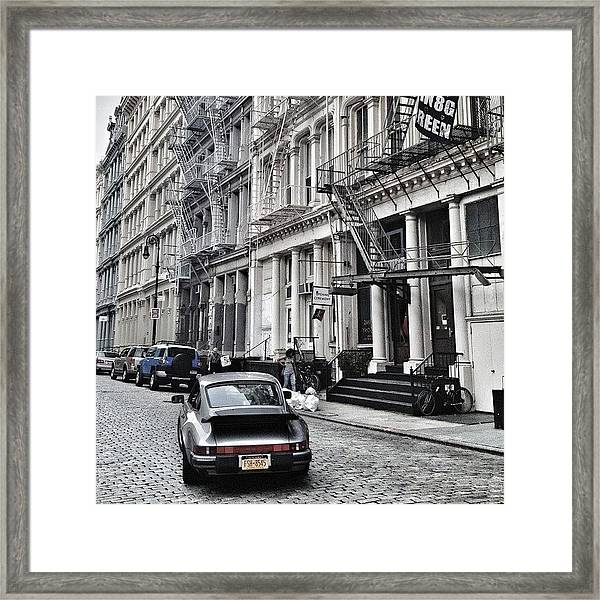 European Design Framed Print