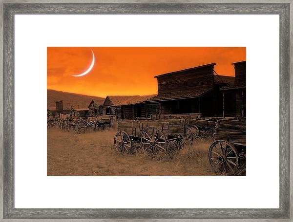 Evanesce Framed Print