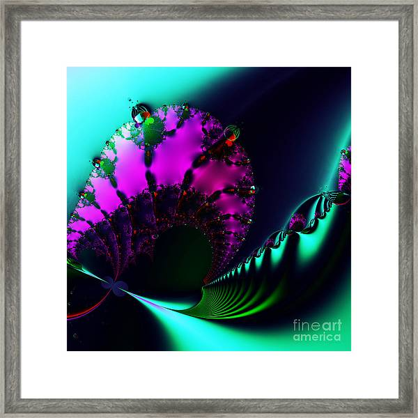 Event Horizon . S17 Framed Print