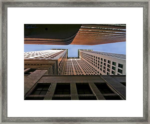 Exchange Canyon Framed Print