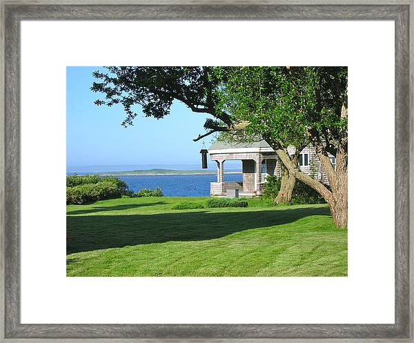 Exhale - Vacation Time Framed Print
