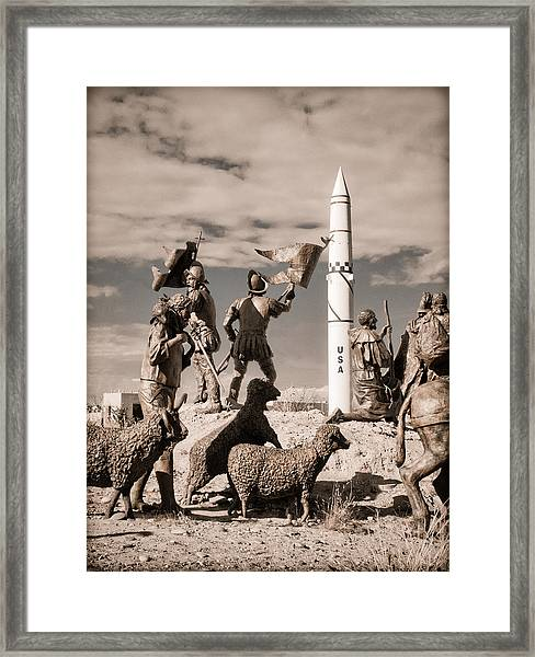 Explorers Framed Print