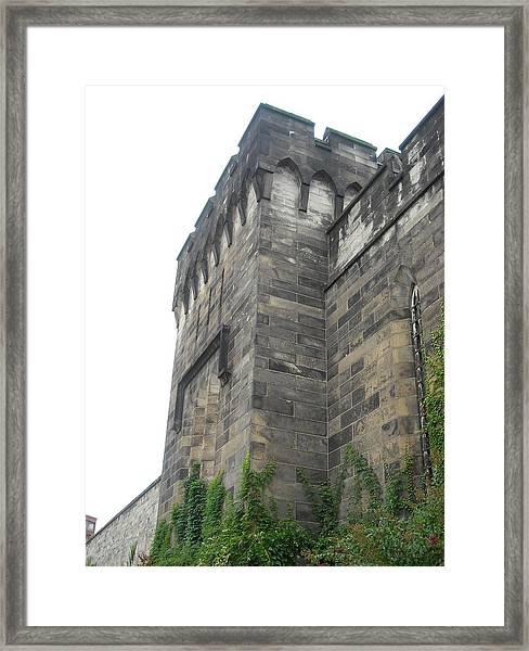 Exterior Wall Framed Print