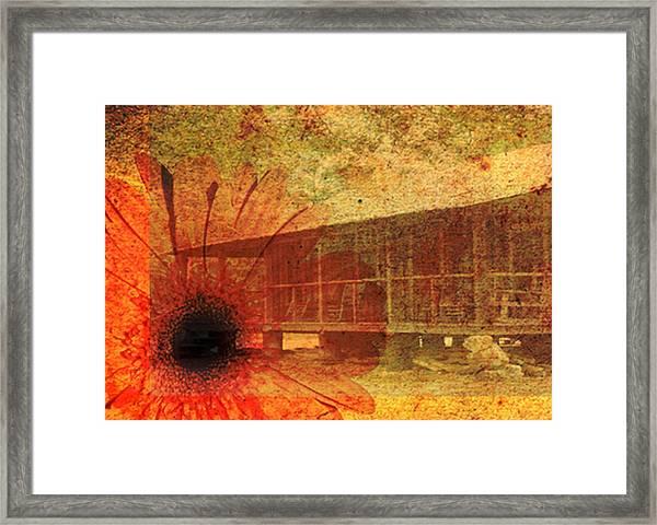 Faded Memories Framed Print