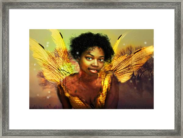 Faery Dawn Framed Print