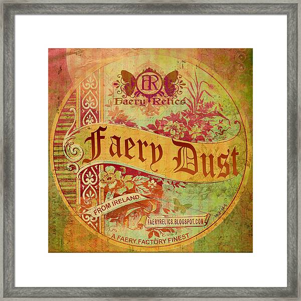 Faery Dust Framed Print