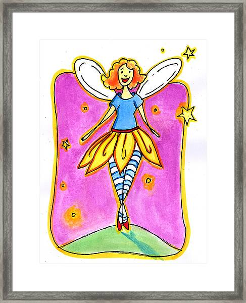 Fairy Note Framed Print