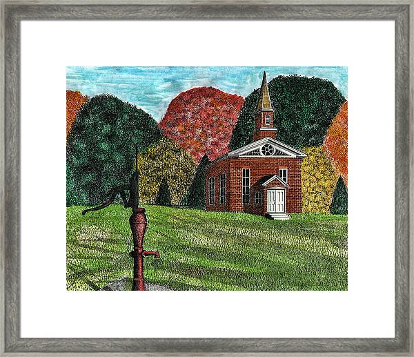 Fall Is Coming Framed Print by Mike OBrien