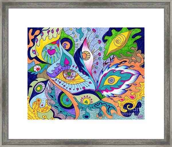 Fantas Eyes Framed Print