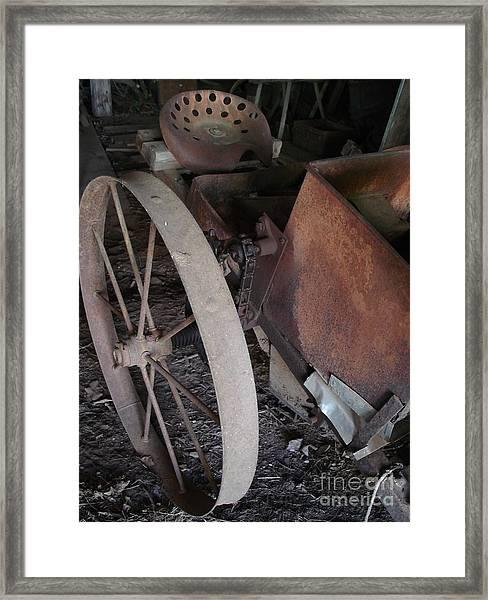 Farm Tool Framed Print
