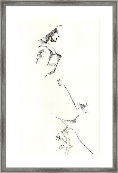 Fashion 1965 Three Framed Print