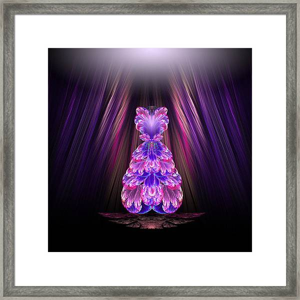 Fashion Show Framed Print