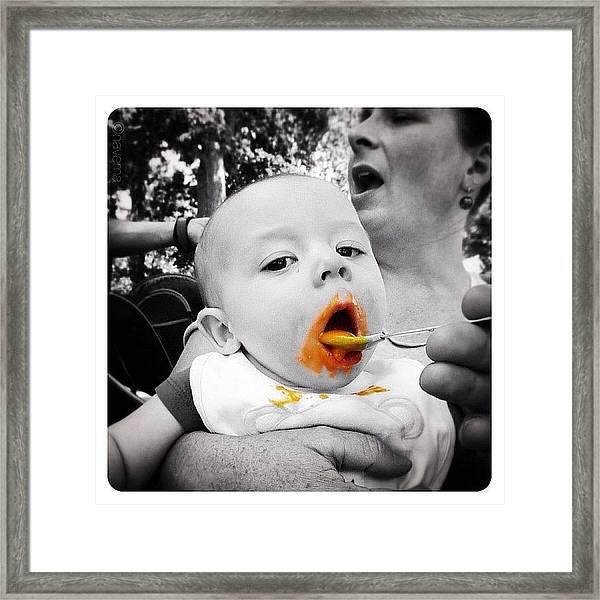 Feed Me Seymour! Framed Print