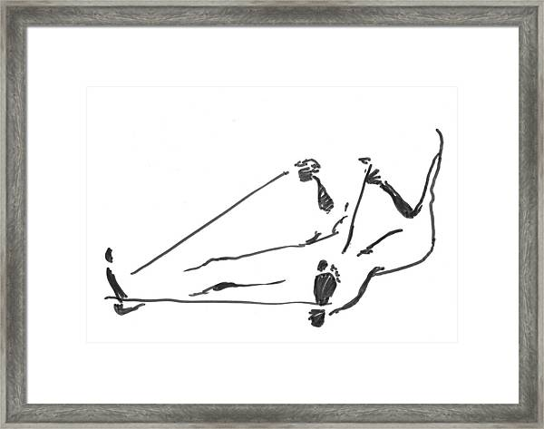 Feet Framed Print