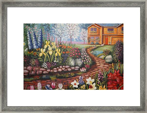 Feller's Dream Framed Print