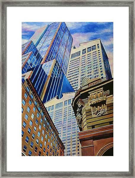 Fifth In Att Series Framed Print