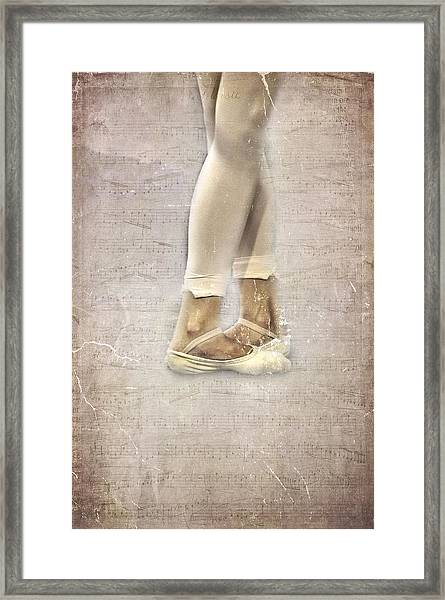Fifth Position Framed Print