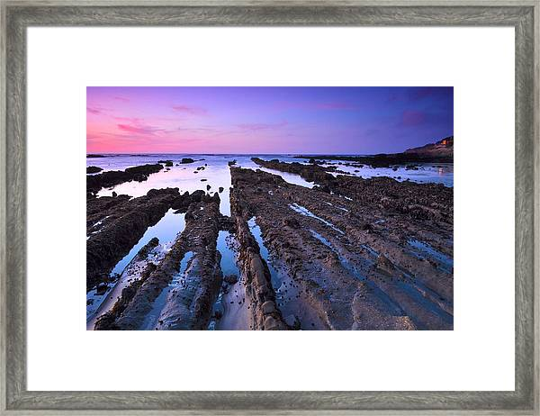 Fingers To The Sea Framed Print