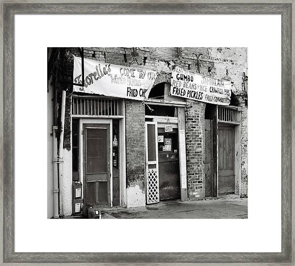 Fiorellas Framed Print