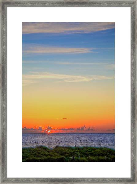 First Light Framed Print by William Wetmore