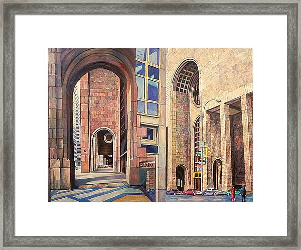 First Of The Att Series Framed Print