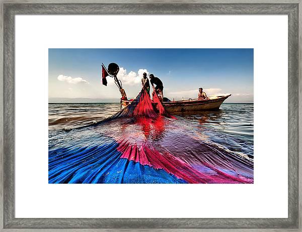 Fishing - 11 Framed Print