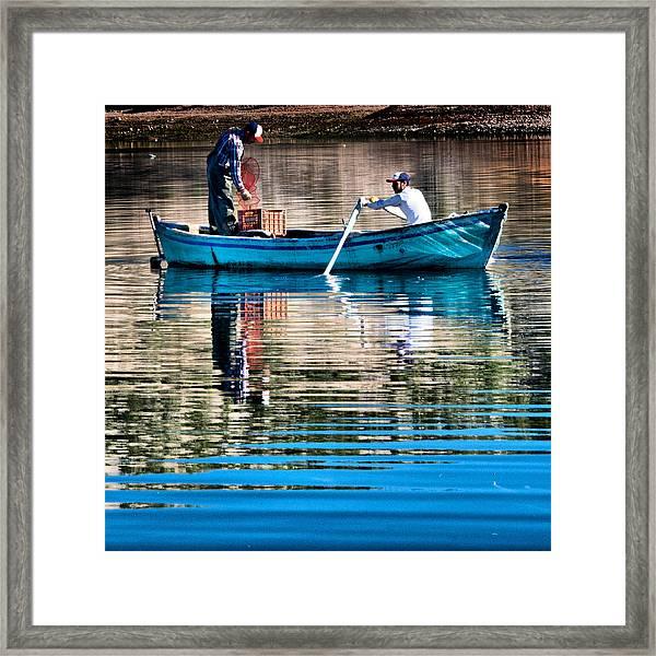 Fishing - 14 Framed Print