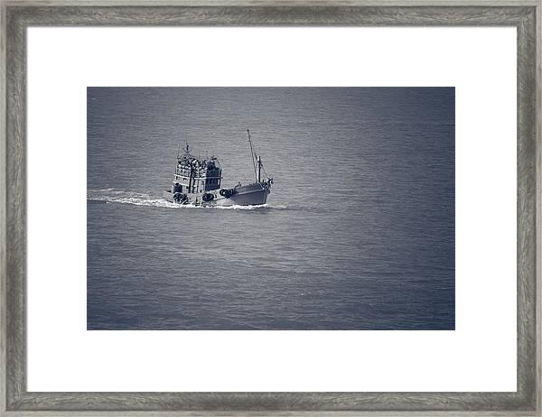 Fishing Vessel Framed Print
