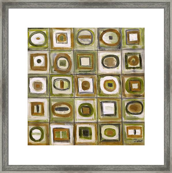 Fixation 3 Framed Print