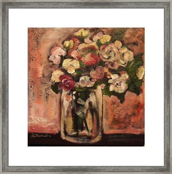 Flowers For Mom Framed Print