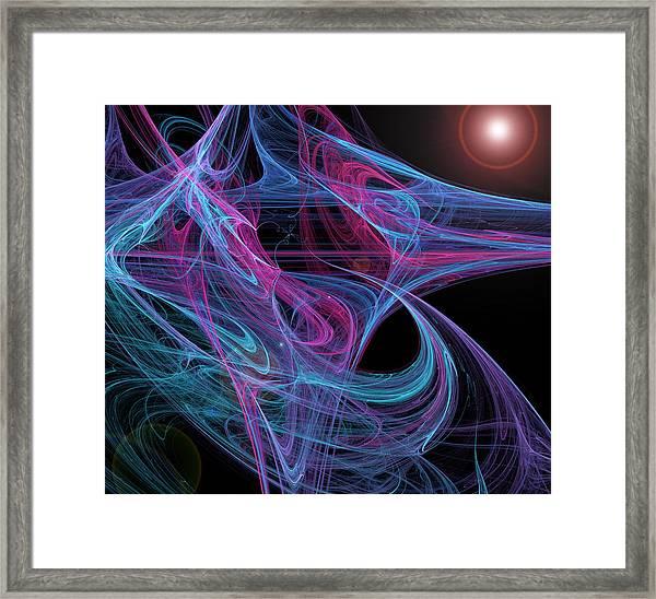 Flowing Energy II Framed Print