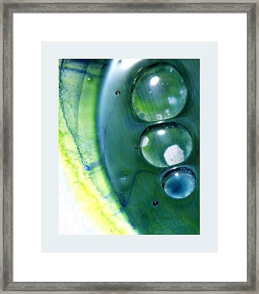 Fluidism Aspect 163 Frame Framed Print