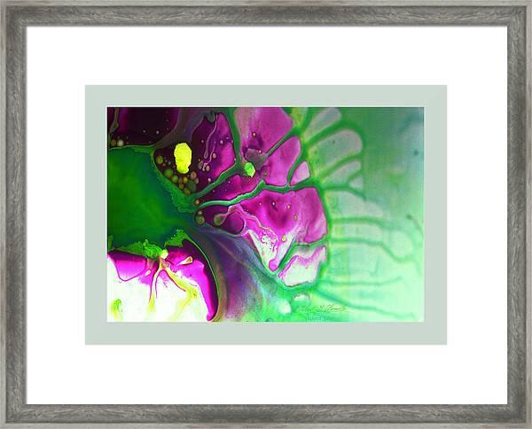 Fluidism Aspect 524 Frame Framed Print
