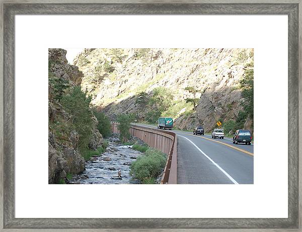 Fly Fishing In Colorado Framed Print