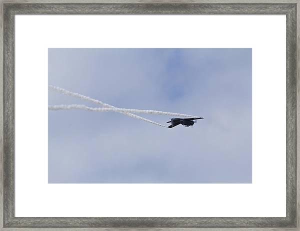 Follow Me Framed Print by Nicholas Evans