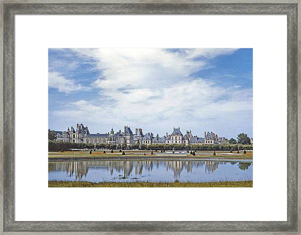 Fontainebleau Palace  Framed Print