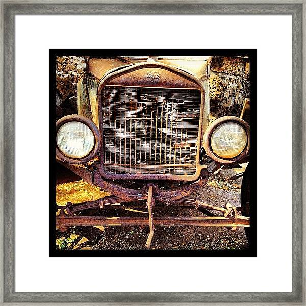 Ford Of Old Framed Print