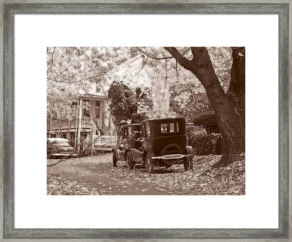 Framed Print featuring the photograph Fords At Harpers Ferry by Williams-Cairns Photography LLC