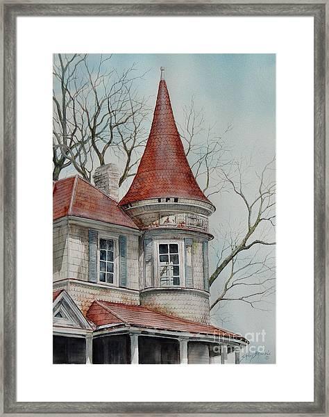 Forgotten Lady...sold Framed Print