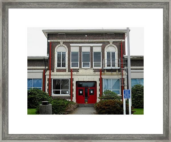 Forks High School Framed Print